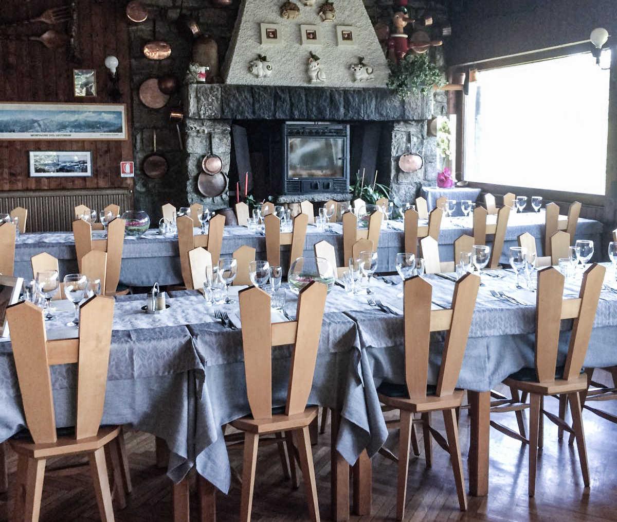 La sala allestito per matrimonio
