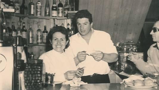 Mariuccia e Gabriele negli anni '60